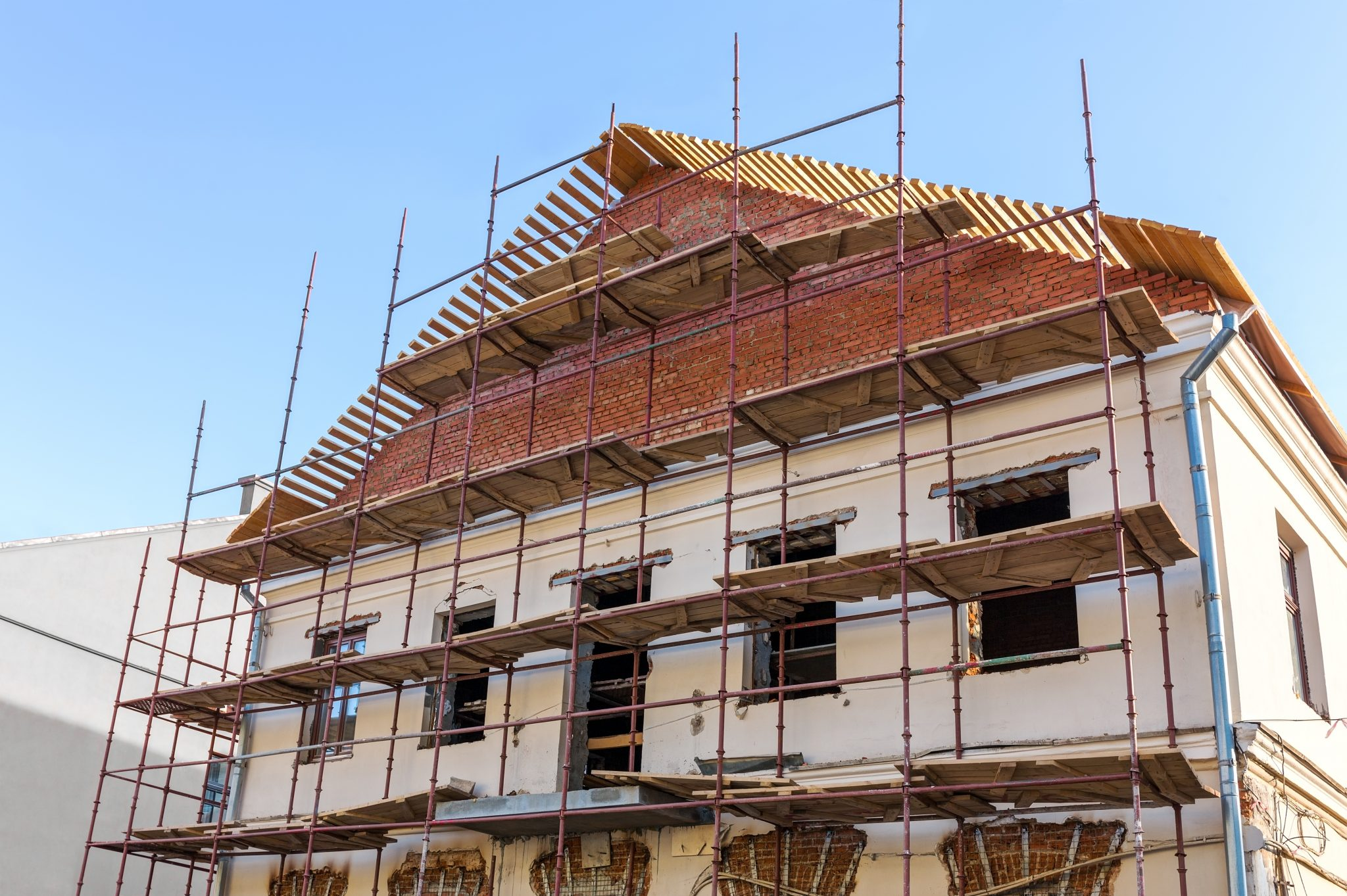 Building Renovation Facade