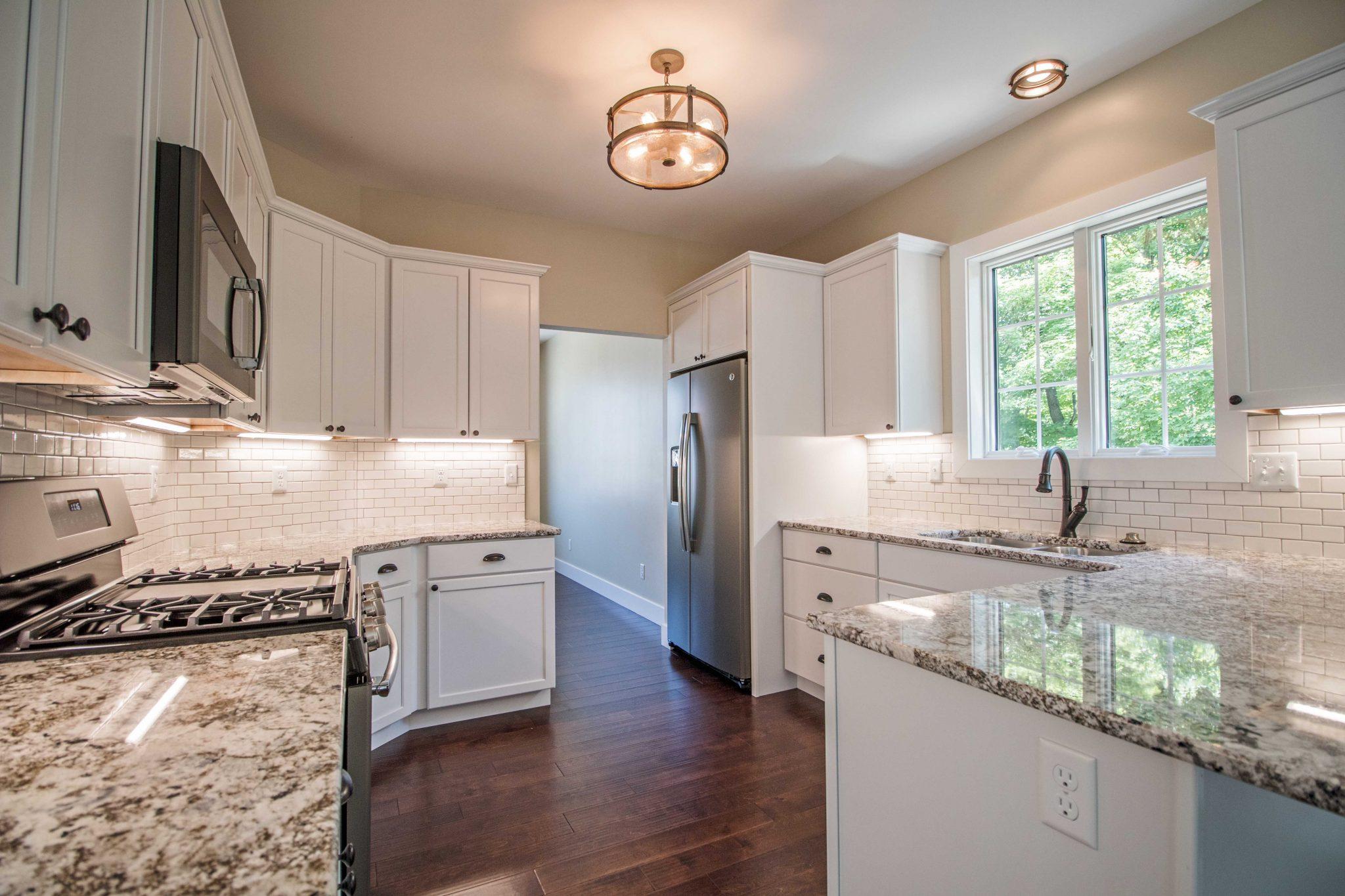 new nice bright kitchen