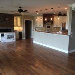 nice new hard floor in living room